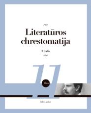 Literatūros chrestomatija 11 kl. 2 dalis paveikslėlis