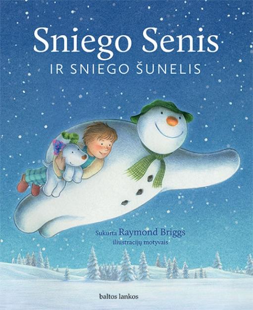 Sniego Senis ir Sniego Šunelis paveikslėlis