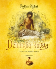 Džiunglių knyga paveikslėlis
