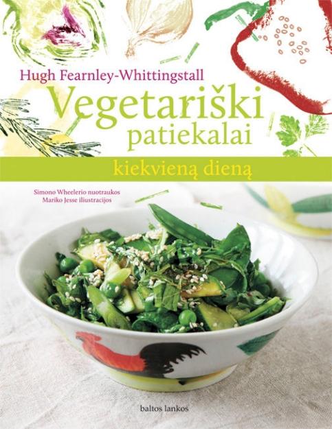 Vegetariški patiekalai kiekvieną dieną paveikslėlis