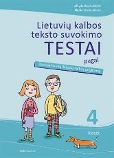 Lietuvių kalbos teksto suvokimo testai 4 kl. paveikslėlis