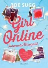 Girl online. Interneto Mergaitė paveikslėlis