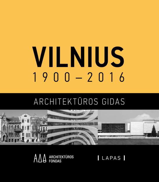 Vilnius 1900-2016. Architektūros gidas paveikslėlis