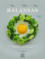 Balansas. Skanus maistas ir sveikos gyvensenos idėjos aktyviems paveikslėlis
