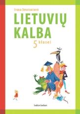 Lietuvių kalba. Vadovėlis 5 kl. paveikslėlis