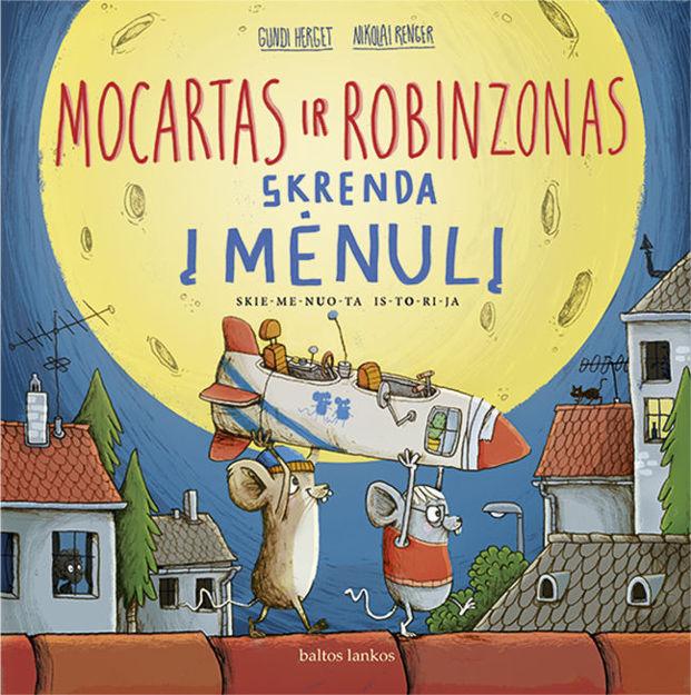 Mocartas ir Robinzonas skrenda į mėnulį paveikslėlis