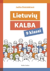 Lietuvių kalba. Vadovėlis 9 kl. paveikslėlis