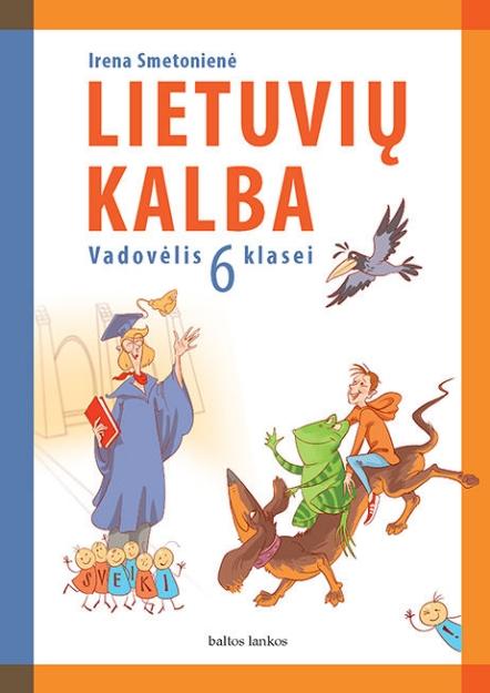 Lietuvių kalba. Vadovėlis 6 kl. paveikslėlis