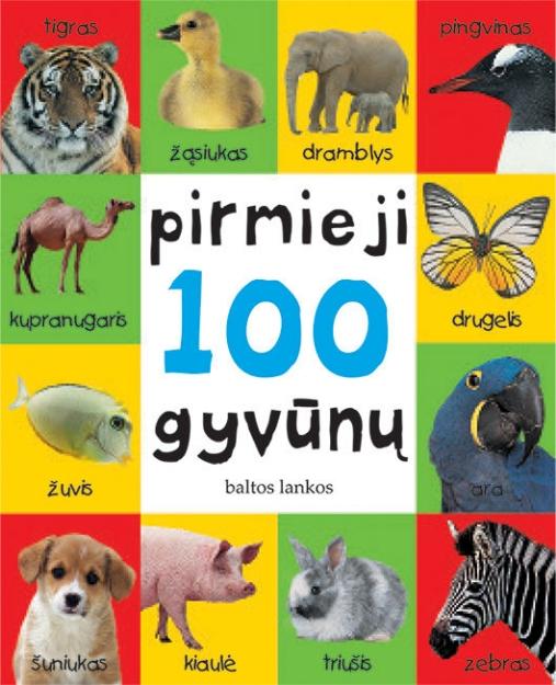Pirmieji 100 gyvūnų paveikslėlis