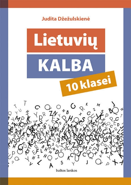 Lietuvių kalba. Vadovėlis 10 kl. paveikslėlis