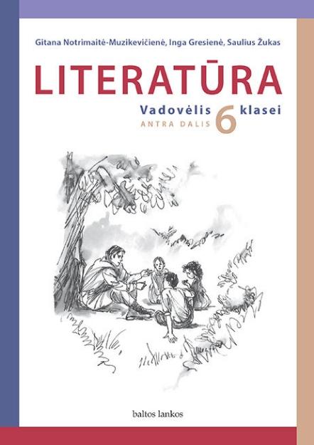 Literatūra. Vadovėlis 6 kl. 2 d. paveikslėlis