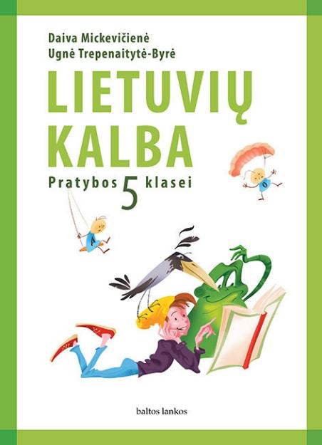Lietuvių kalba. Pratybų sąsiuvinis 5 kl. paveikslėlis