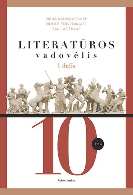 Literatūra. Vadovėlis 10 kl. 1 d. paveikslėlis