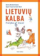 Lietuvių kalba. Pratybų sąsiuvinis 6 kl. paveikslėlis