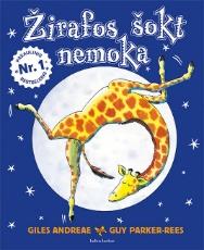 Žirafos šokt nemoka paveikslėlis