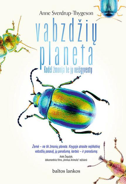 El. knyga Vabzdžių planeta. Kodėl žmonija be jų neišgyventų paveikslėlis