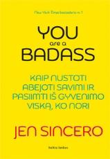 El. knyga YOU ARE A BADASS: kaip nustoti abejoti savimi ir pasiimti iš gyvenimo viską, ko nori paveikslėlis