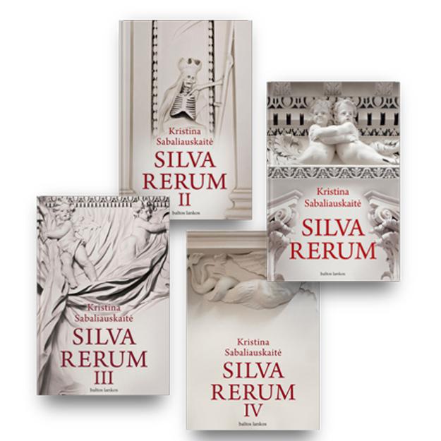 Kristinos Sabaliauskaitės 4 knygų rinkinys: Silva rerum paveikslėlis