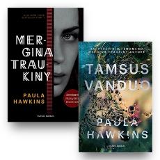 Paula Hawkins 2 knygų rinkinys: Mergina traukiny + Tamsus vanduo paveikslėlis