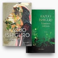 Kazuo Ishiguro 2 knygų rinkinys: Plūduriuojančio pasaulio menininkas + Palaidotas milžinas paveikslėlis