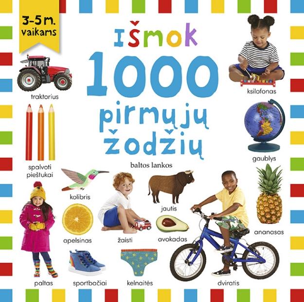 Išmok 1000 pirmųjų žodžių paveikslėlis