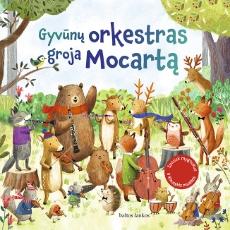 Gyvūnų orkestras groja Mocartą paveikslėlis